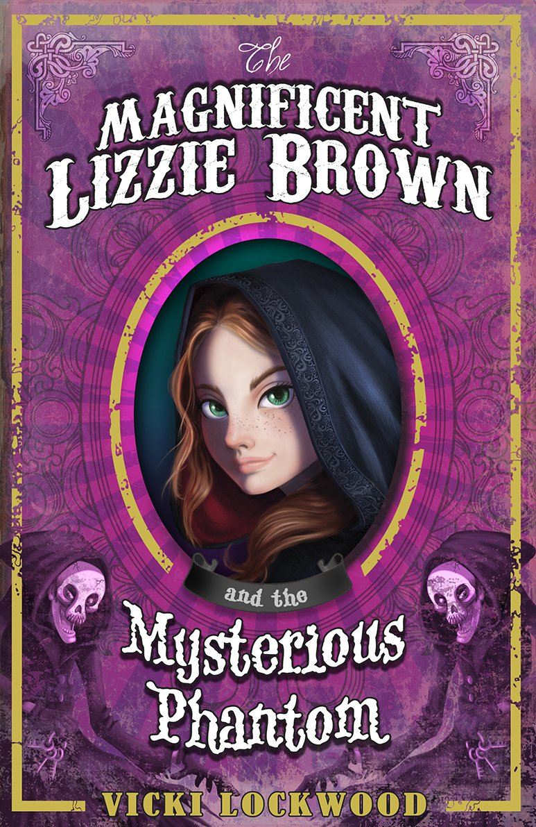Download The Magnificent Lizzie Brown and the Mysterious Phantom pdf