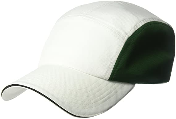 e626af4d39d8 Lacoste homme Diamond Weave Taffeta Cap With Contrasted Piping, Rk8308 Casquette  de baseball - blanc