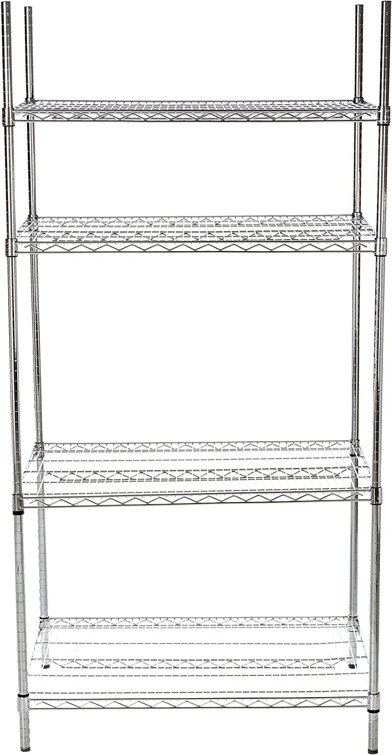 24-Inch by 30-Inch Winco USA VC-2430 Winco Chrome Plated Wire Shelves
