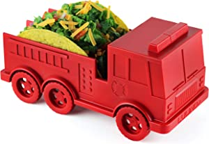 LULIND - Fire Truck Taco Holder for Kids, Novelty Taco Stand (1 Pack)