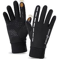sport2people Winddichte waterdichte sporthandschoenen met touchscreen en antislip ontwerp, warm, comfortabel…