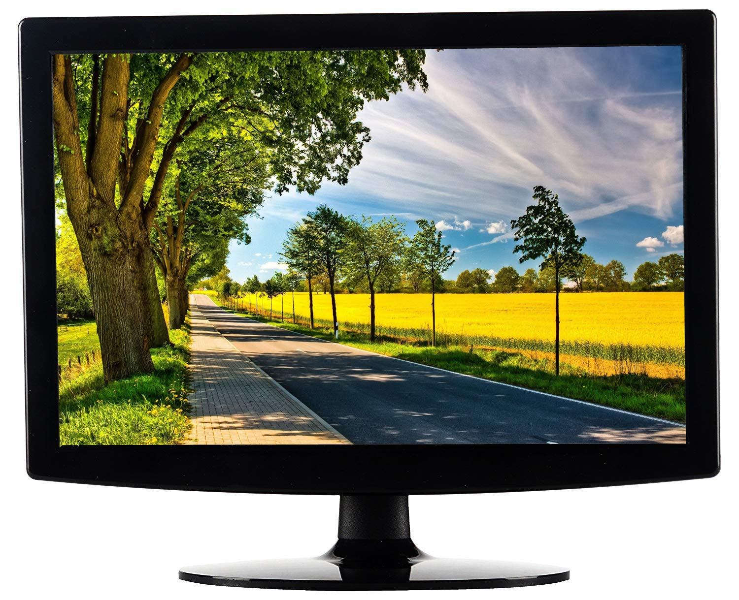 Amazon.in: Buy TECH-COM 17.1-inch/43.4 Cm Slim LED Monitor (Black) Online  at Low Prices in India | TECH-COM Reviews & Ratings