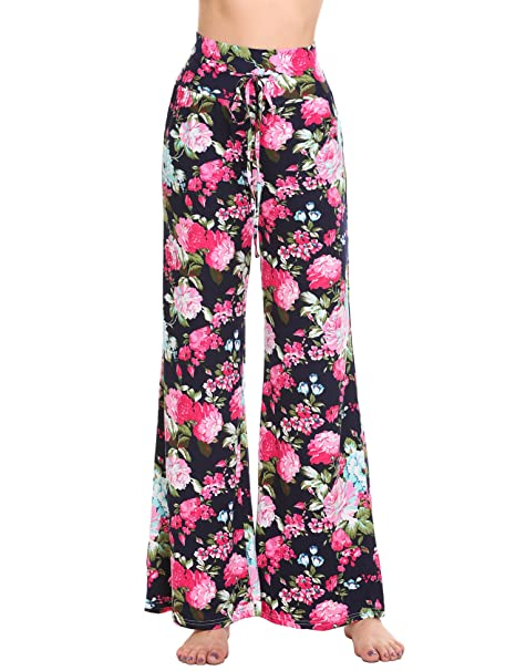 Hotouch Women Pajama Pants Plus Comfy Lounge Pants Polka Dots