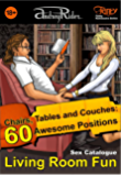 """Living Room Fun"" Sex Positions Catalogue: An Assortment of 60 Positions: Table, Chair, Easy Chair, Couch (Fanty Kamasutra Book 2)"
