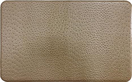 Gentle Step  Anti Fatigue Memory Foam Kitchen Mat (Ostrich Khaki)