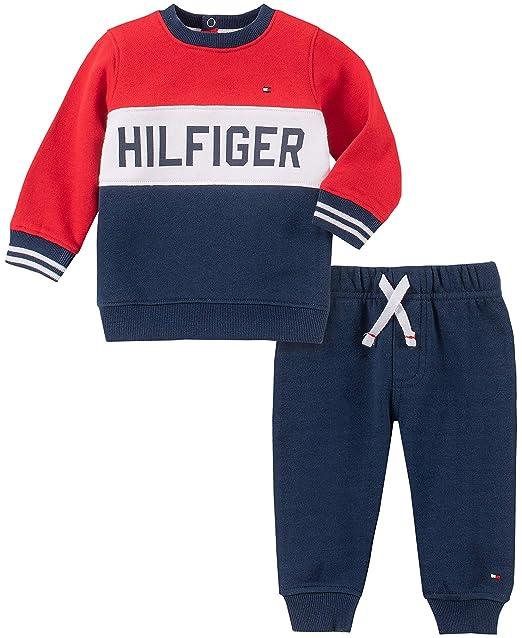 Amazon.com: Tommy Hilfiger Baby Boys 2 piezas Jog Set: Clothing