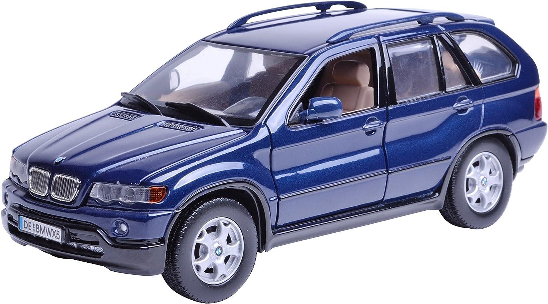 Gotzmm73254mb Motor Max 1 24 Scale Metallic Blue Bmw X5 Spritzgußmodell Car Amazon De Spielzeug