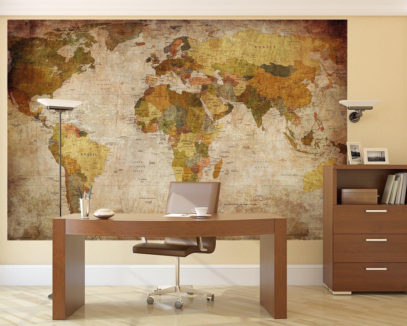 Amazon lb prepasted wall mural foto wall decor world map amazon lb prepasted wall mural foto wall decor world map 827 inch 555 inch with bonus only for you baby gumiabroncs Gallery