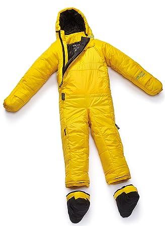 SELKBAG Saco de dormir Modelo 5G ORIGINAL Color Amarillo,Talla S