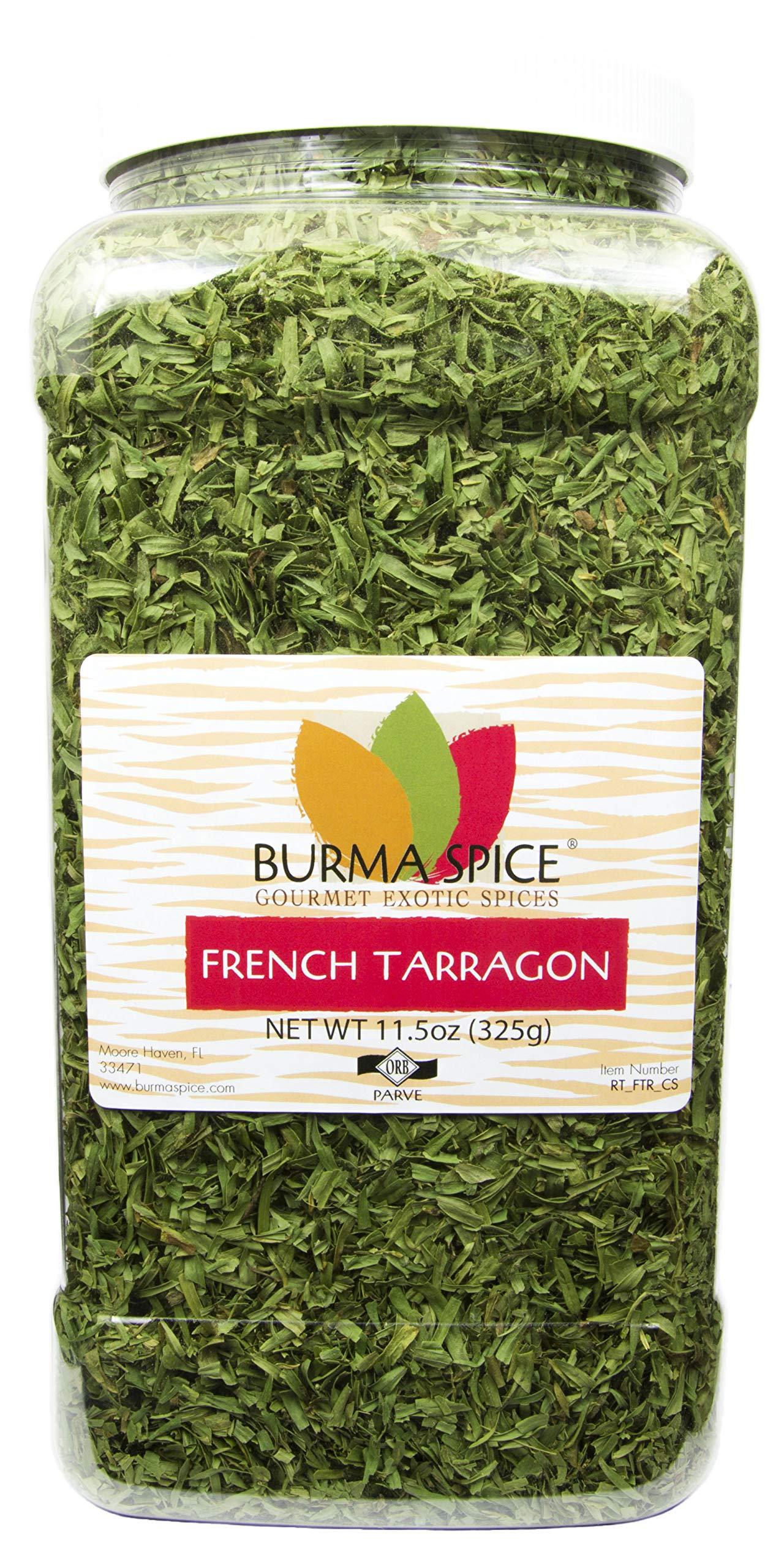French Tarragon : Dried Herb, No additives, French Cuisine : Kosher (11.5oz.)