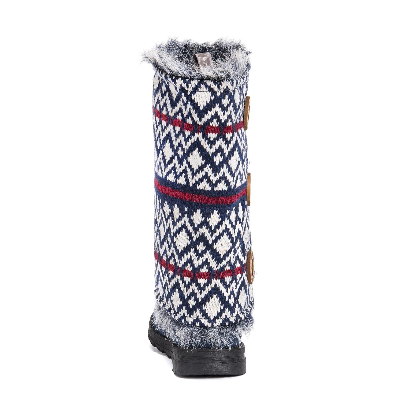 MUK LUKS Boot Women's Reversible Andrea Fashion Boot LUKS B0744RJTXC 6 B(M) US|Navy b510e3