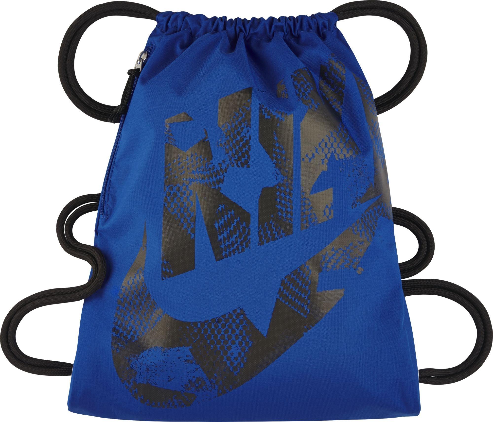 Nike Heritage Gym Sack (Game Royal Blue/Black, One Size)