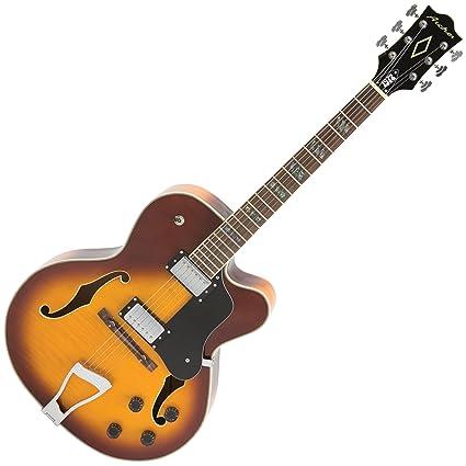 Archer jr1972t Josh Rouse 1972 firma Archtop guitarra eléctrica