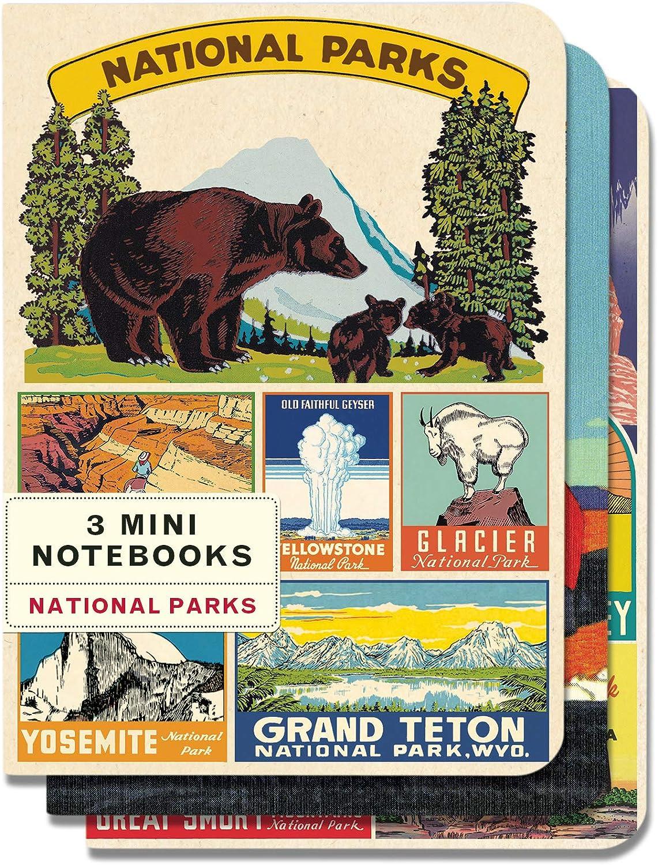Cavallini /& Co National Parks Mini Notebooks