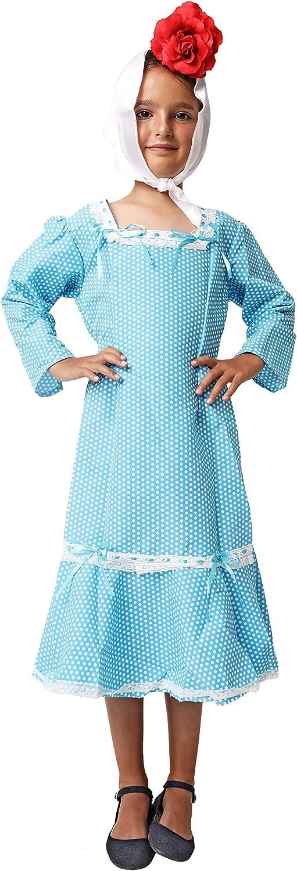 Costumizate! Traje de Chulapa Madrileña Azul Tallas Diferentes ...