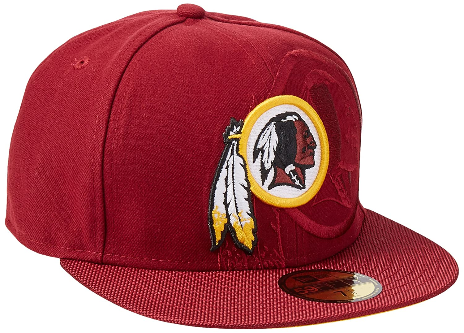 Washington Redskins New Era Burdeos 2016 Diseño Oficial 59 Fifty ...