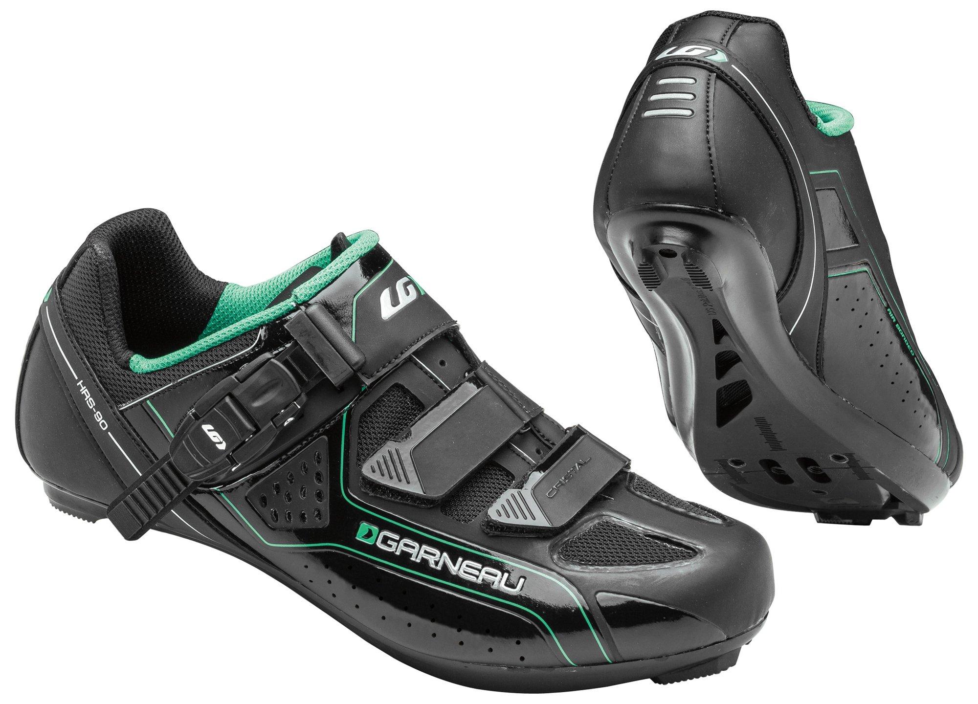 Louis Garneau Women's Cristal Bike Shoes, Black, 38