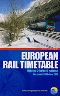European Rail Timetable - Winter 2009/2010: Independent Travellers Edition (Thomas Cook Rail