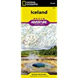 Iceland (National Geographic Adventure Map, 3302)