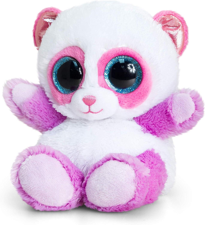 Keel Toys KEELTOYS-Peluche Animotsu Panda Lila, 15 cm-SF0957, SF0957, Rosa y Violeta: Amazon.es: Juguetes y juegos