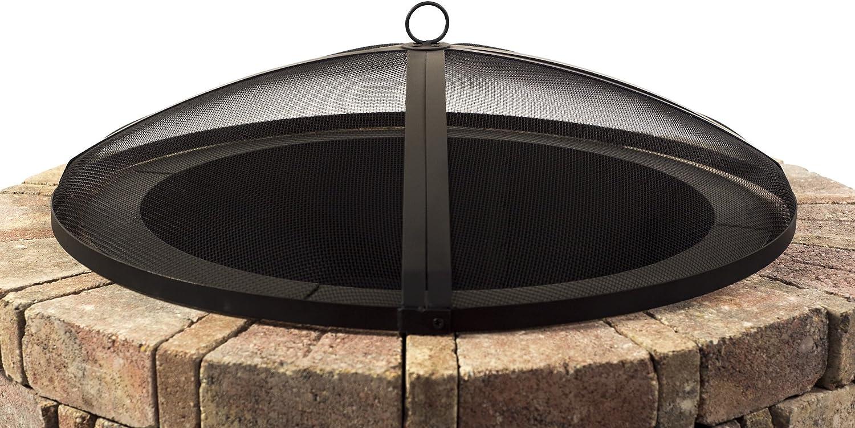 Hampton's Buzaar 40 Inch Round Fire Pit Spark Screen – Best 40″