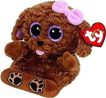TY TY00005 - Soporte para teléfono móvil con modelo de perro de peluche Zelda, color marrón , color/modelo surtido: Amazon.es: Juguetes y juegos