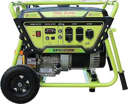 Amazon.com: green-power América gpg5250 W 5250 W generador ...
