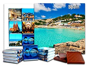 SPAIN Chocolate Gift Set, 5x5in, 1 box (Beach Prime 0189)