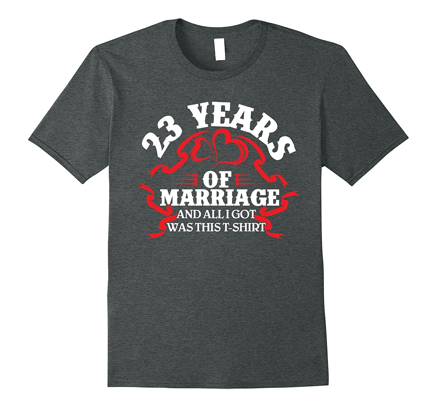 Cool T Shirt 23rd Wedding Anniversary Gifts For Herhim Pl
