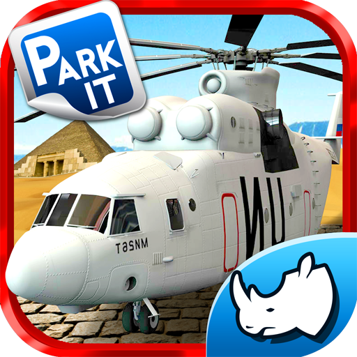 Helicopter 3D Rescue Parking - Fire Helicopter Games