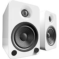 Kanto YU4 Powered Bookshelf Speakers with Bluetooth® and Phono Preamp (Gloss White)