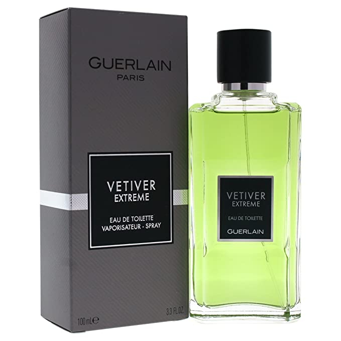 Guerlain Vetiver Extreme Agua de Colonia - 100 ml: GUERLAIN: Amazon.es: Belleza