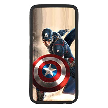 Desconocido Funda Carcasa para móvil Capitan America Marvel ...