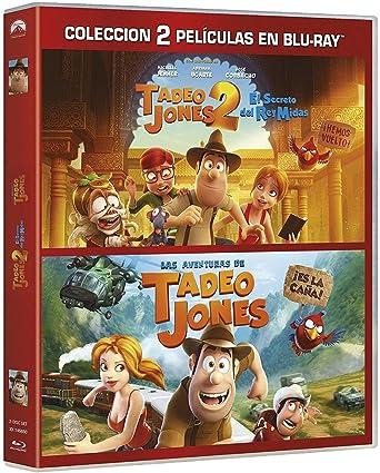 Pack: Tadeo Jones 1+ Tadeo Jones 2 [Blu-ray]: Amazon.es: Óscar Barberán, Michelle Jenner, Adriana Ugarte, José Corbacho, David Alonso, Enrique Gato, Óscar Barberán, Michelle Jenner, Telecinco Cinema: Cine y Series TV