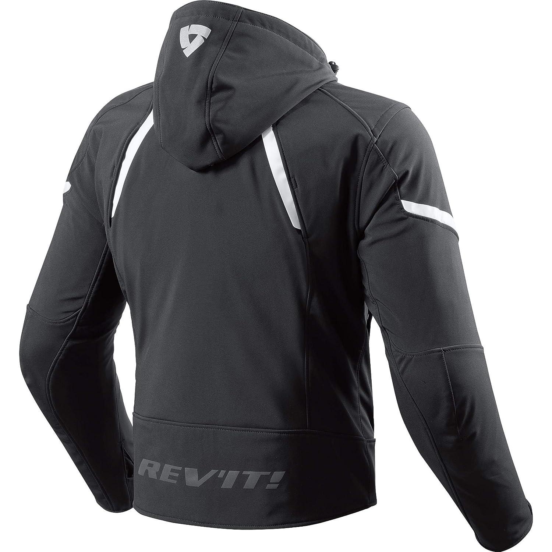 /blanco y negro /Chaqueta de Motorista para deportes/ REVIT Revit Burn/