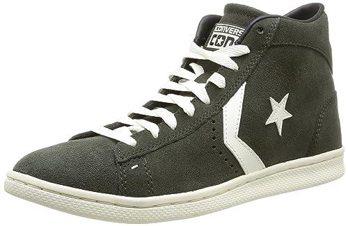7931b6520e07c1 Converse Pro Leather LP Mid Suede - Zapatillas Unisex Adulto  Amazon.es   Zapatos y complementos