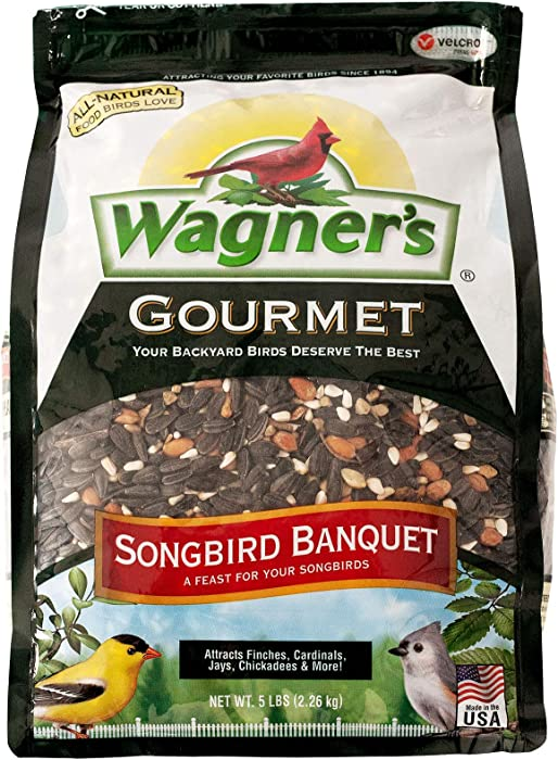 Wagner's 82042 Songbird Banquet Wild Bird Food, 5-Pound Bag