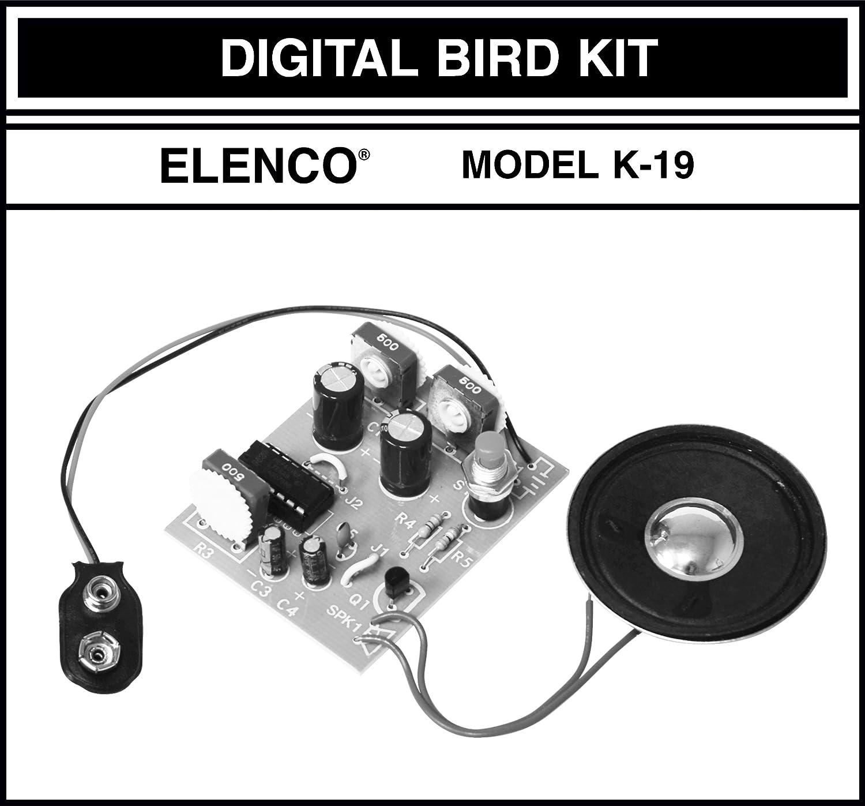 Elenco Digital Bird Soldering Kit
