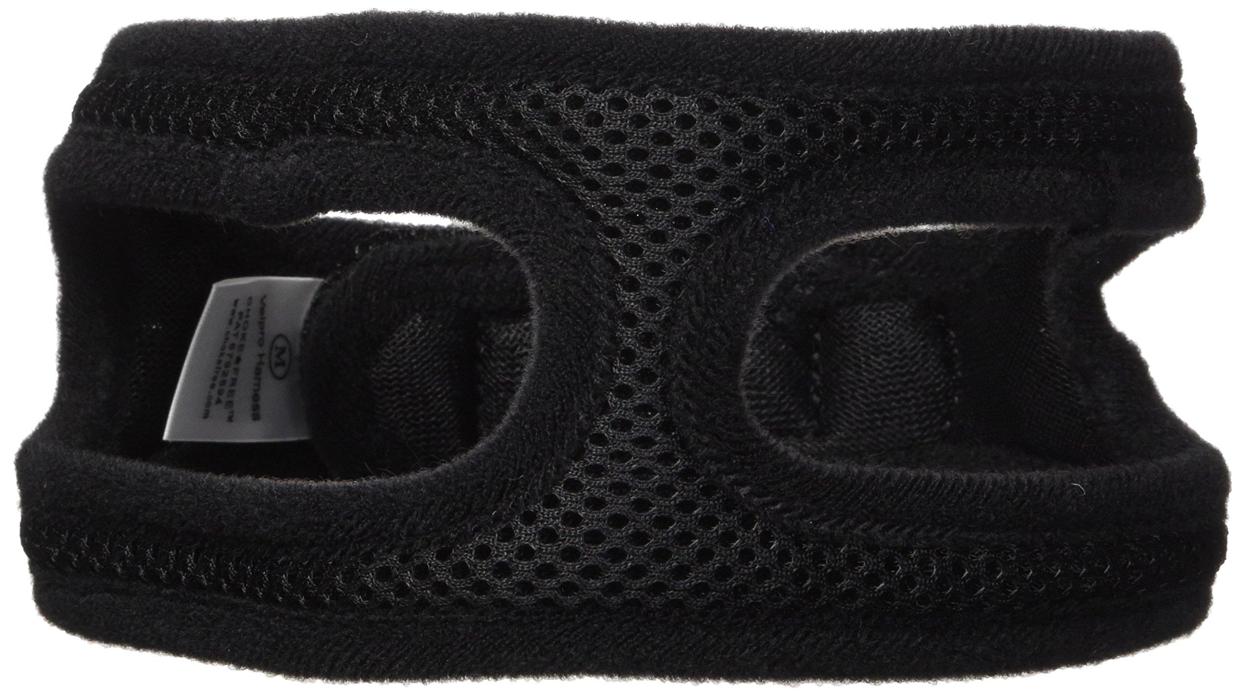 ChokeFree Velpro Mesh Pet Shoulder Harness Collar, 16'', Black