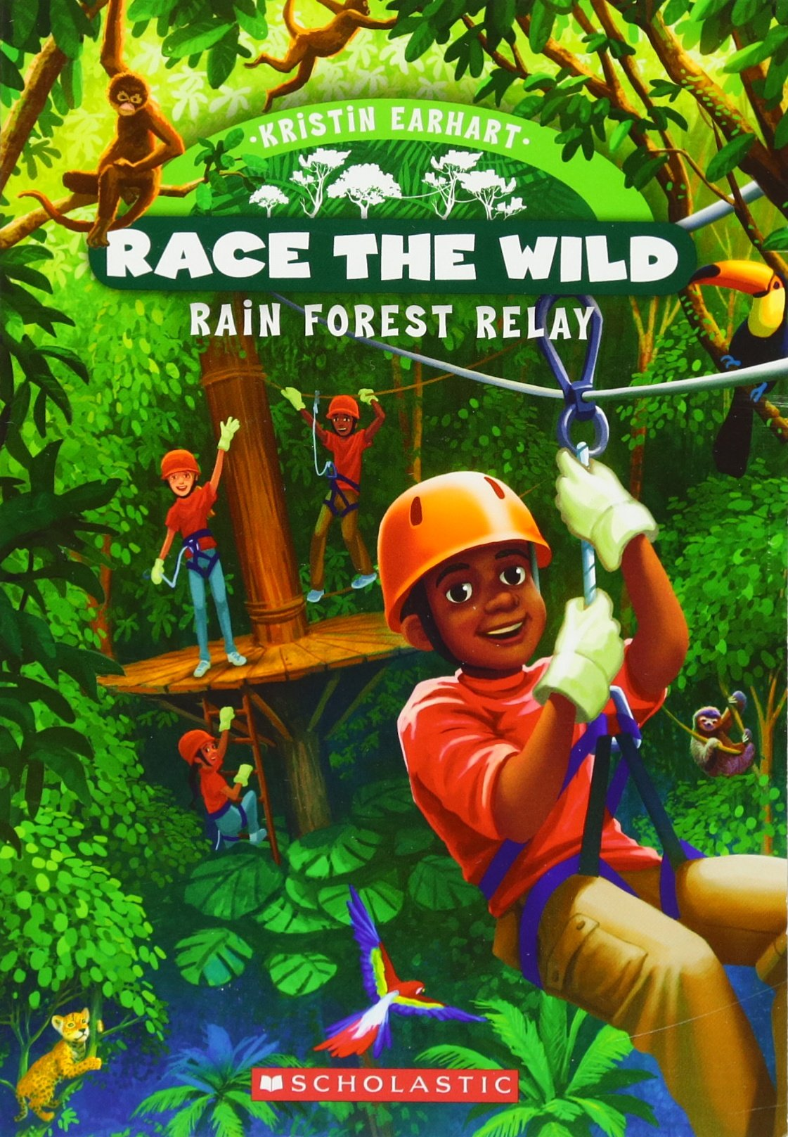 Download Race the Wild #1: Rain Forest Relay pdf epub