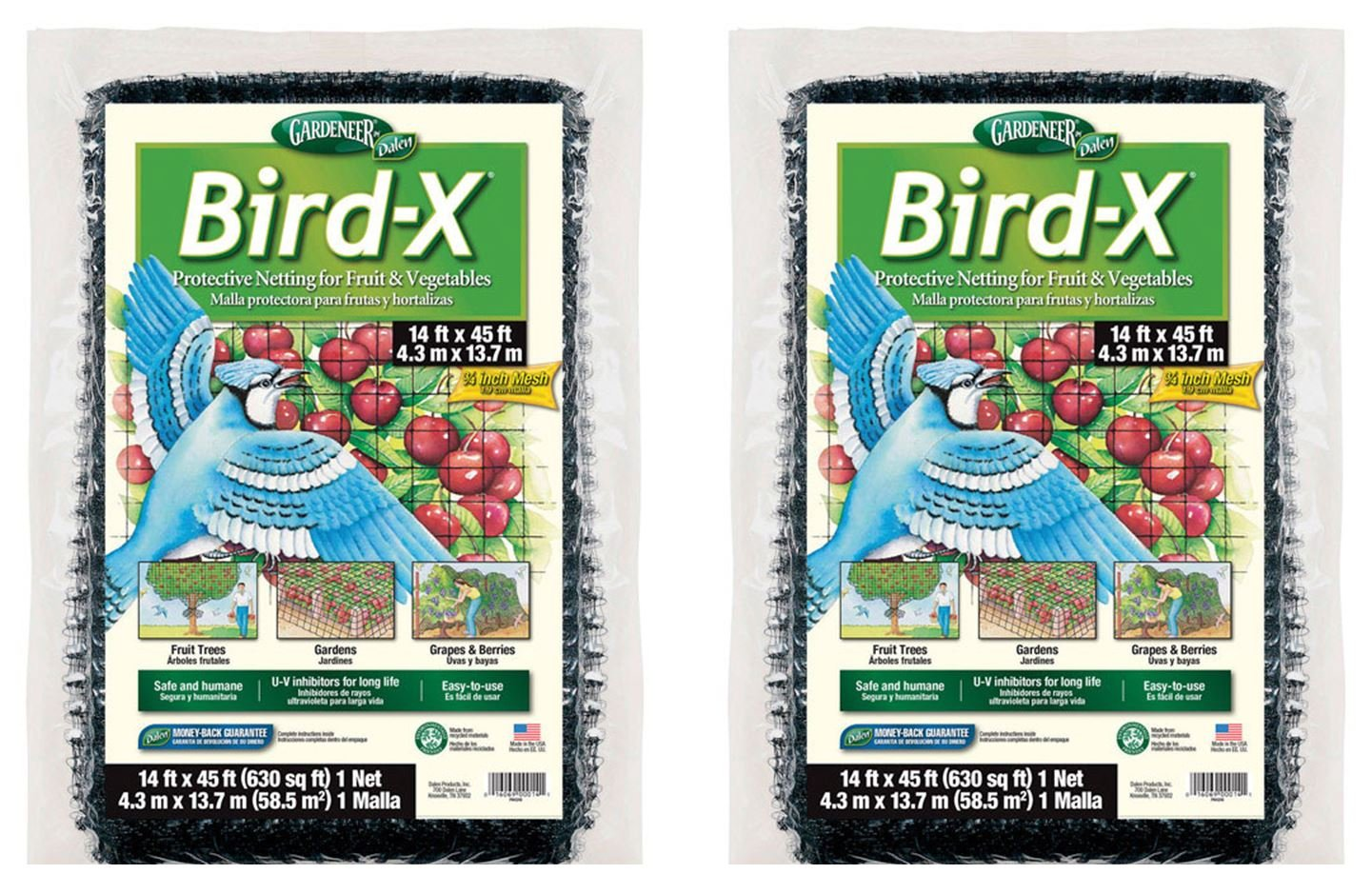 Dalen 791043467966 Bird Netting 14'X45' by Dalen (Image #1)