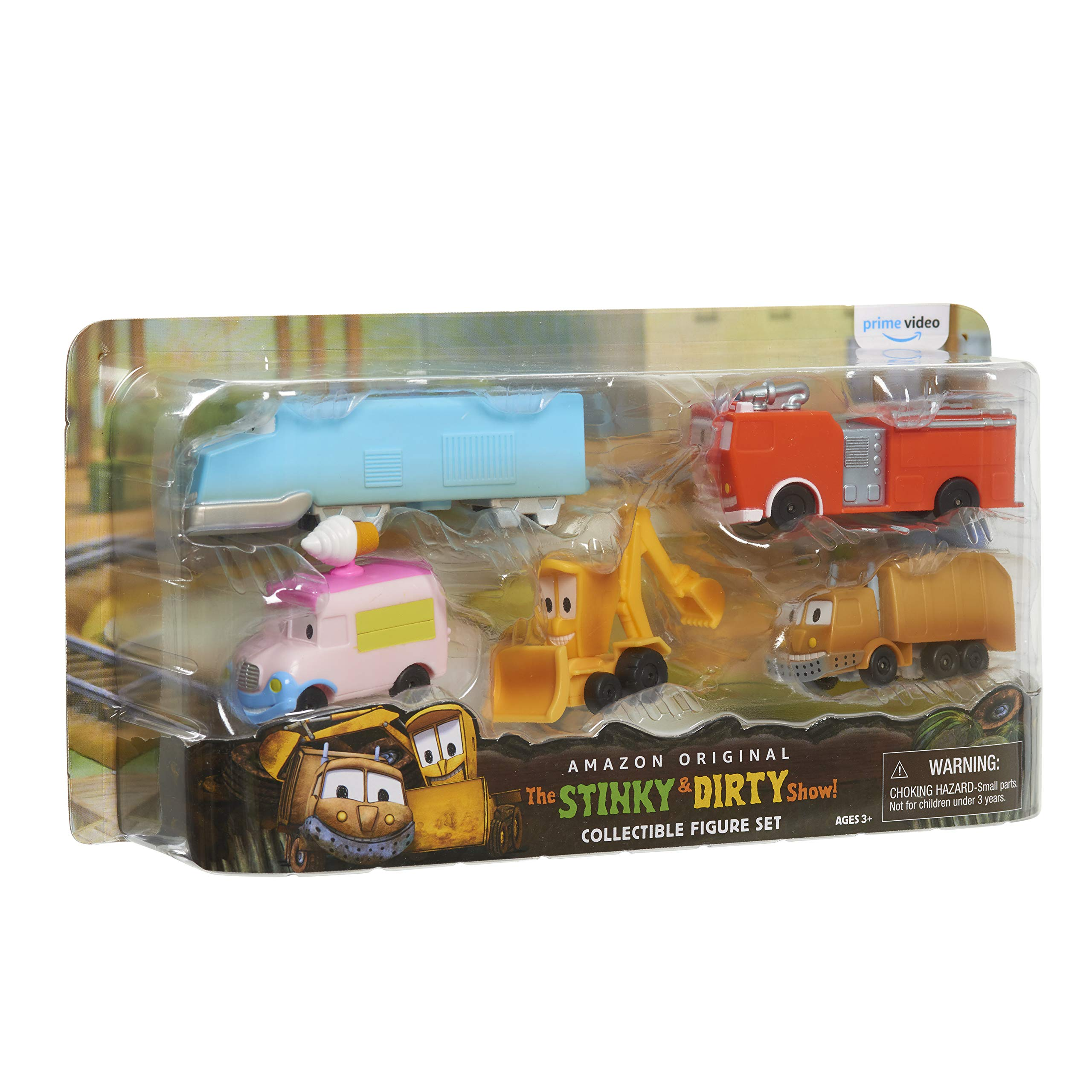 The Stinky & Dirty Show Collectible Figure Set - Amazon Exclusive