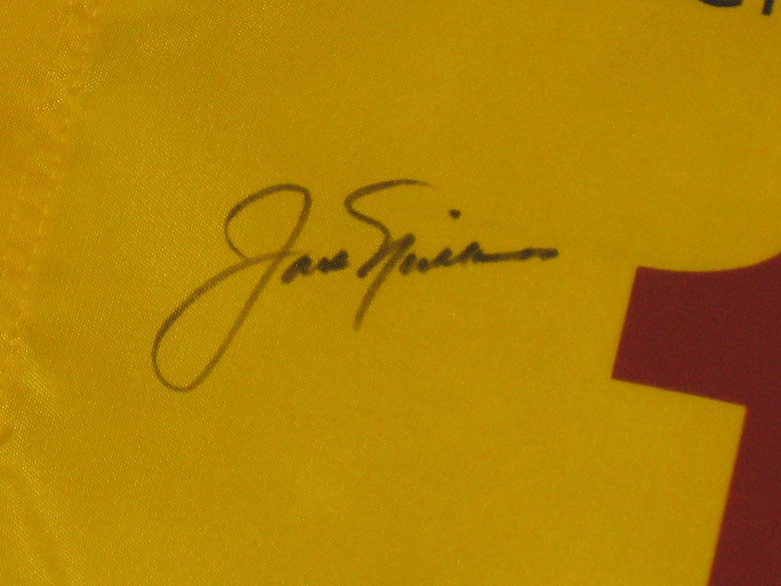 Jack Nicklaus Autographed 2011 British Open Royal St. George's The Open Tournament Flag (JSA COA)