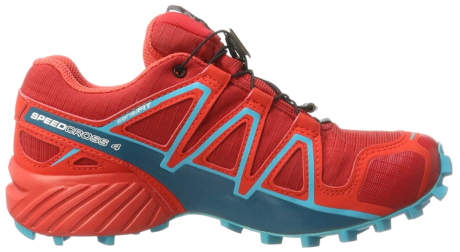 Salomon Women's Speedcross 4 GTX W Trail Running US|Barbados Shoe B01MTAP6LR 8.5 B(M) US|Barbados Running Cherry 476552
