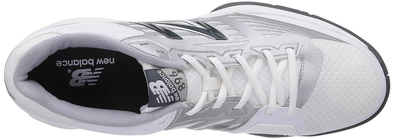 new balance white tennis shoes