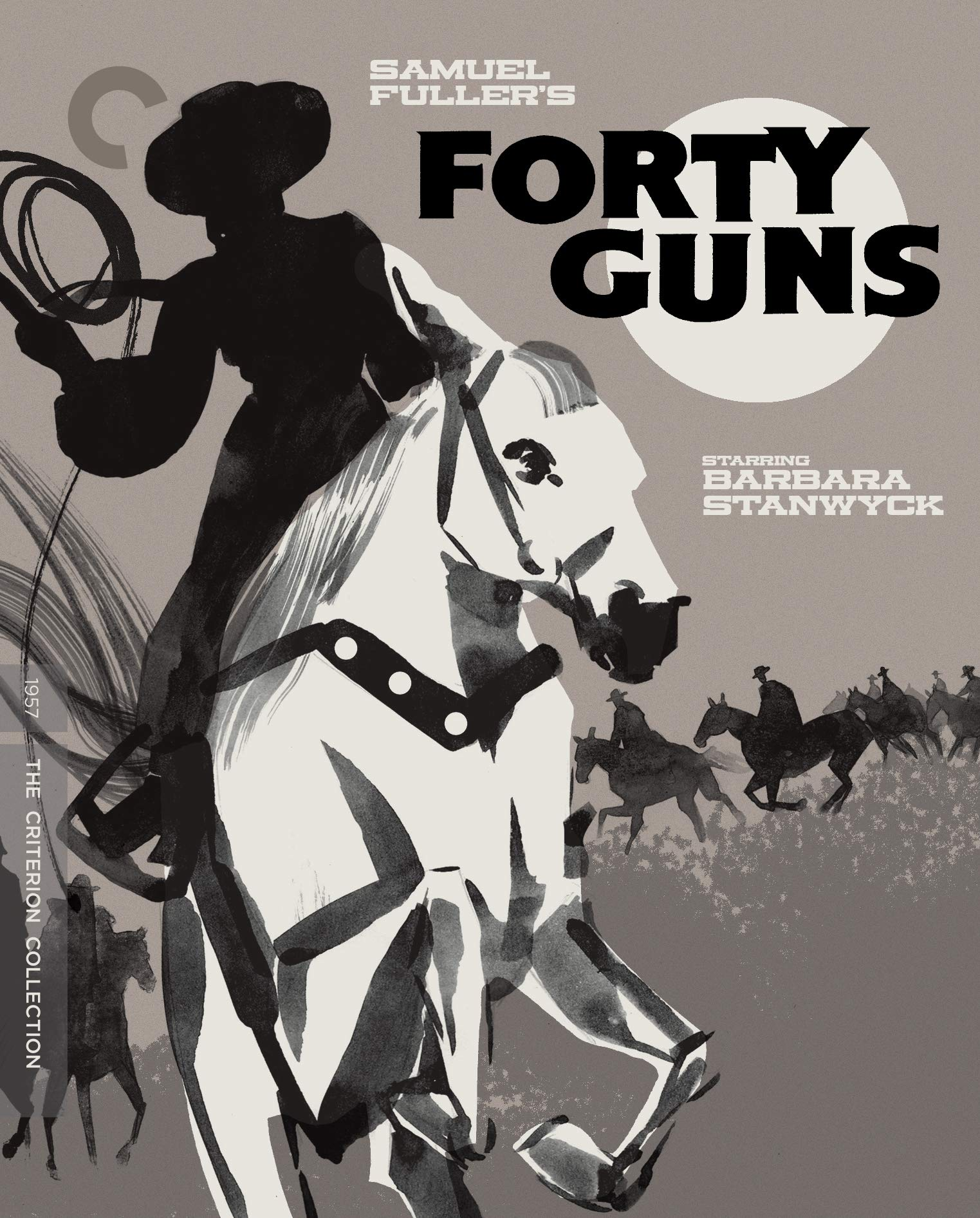 Blu-ray : Forty Guns (criterion Collection) (Special Edition, 4K Mastering, Restored, Widescreen)