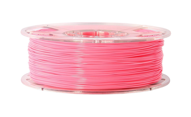 eSun Filamento ABS per stampanti 3D, 1 kg, 1,75/3,00 mm - disponibile in diversi colori, temperatura di stampa 220-260 ℃, per stampanti 3D come MakerBot, RepRap, MakerGear, Ultimaker, Mendel, Huxlep UP, Thing-o-matic, Universale, 1.75mm, bianco