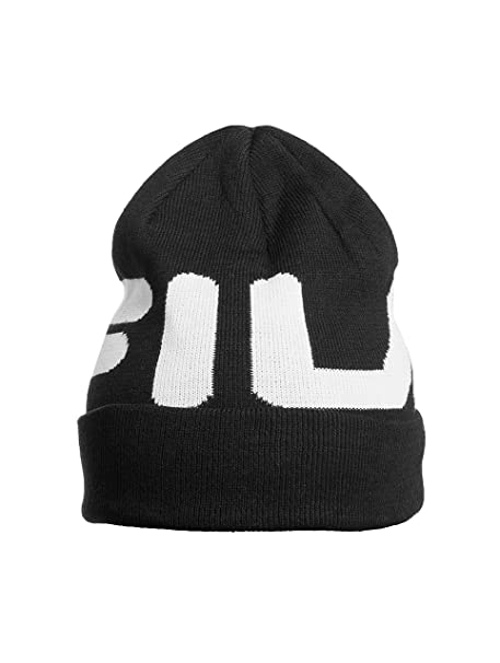 Cappello FILA 686003 cuffia uomo donna unisex logo new collection inverno  17 18 - Colore Nero - Taglia UNI  Amazon.it  Abbigliamento b315340d29f8