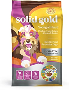 Solid Gold Young at Heart Dog Food for Overweight Seniors