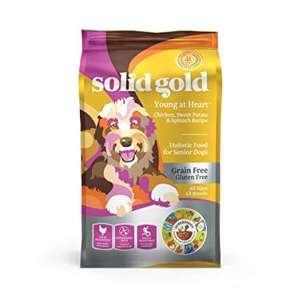 Amazon Solid Gold Young At Heart With Real Chicken Grain